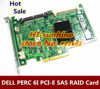 100 High Quality 1PCS PERC 6I RAID6 SAS RAID CONTROLLER PCI E Card WY335 Card For
