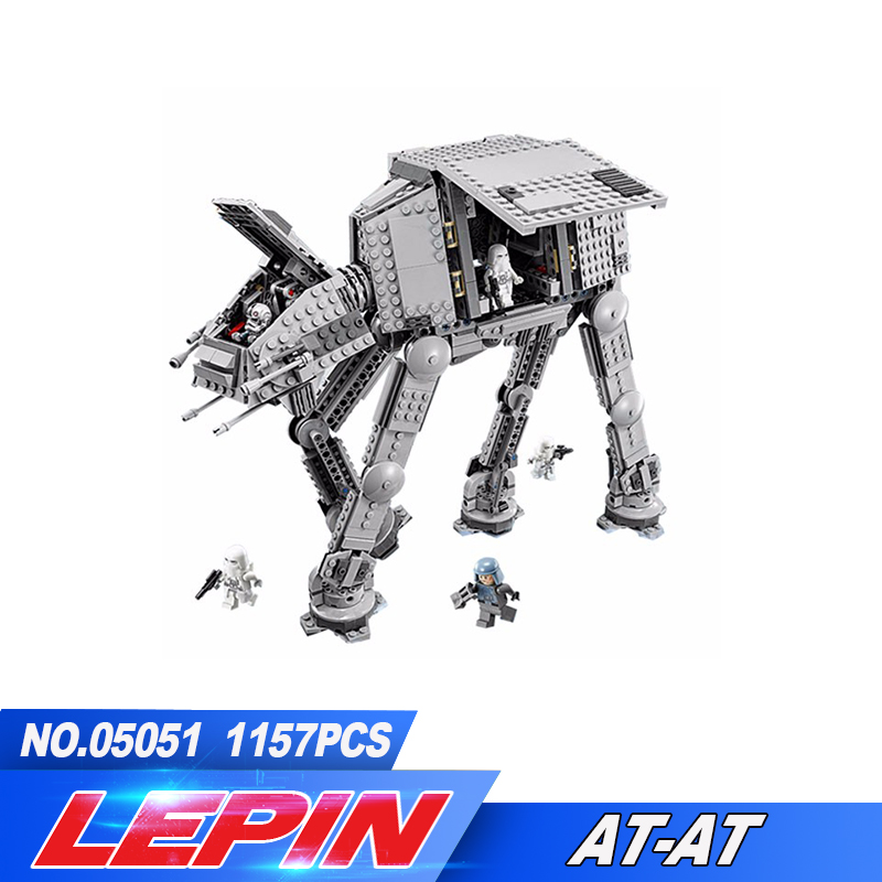 New Lepin 05051 Series Force Awaken The AT-AT Transpotation Armored Robot 75054 Building Blocks Bricks Educational Toys new lp2k series contactor lp2k06015 lp2k06015md lp2 k06015md 220v dc