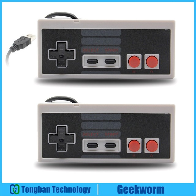 Raspberry Pi No Driver 8 Keys USB Nintendo NES Game Controller NESPi