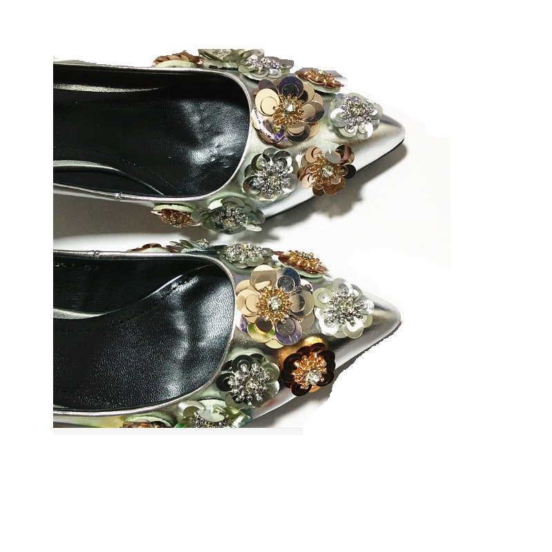 NEW arrival Woman Fashion shoes flower sexy high heel flat boots bag wallet  decorative charms flower 20pcs/lot free shipping бордюр mainzu tissu blanco 2x15