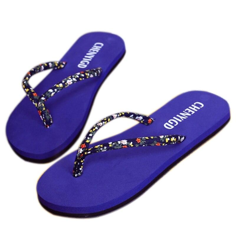 Summer Beach Flip Flops Sandals Women's Slippers 1