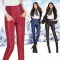 Tuoweey 2016 Winter lady Outer Wear Women Pants Fashion Cotton Down Pants Trousers Female Slim Warm Windproof Plus Velvet Thick