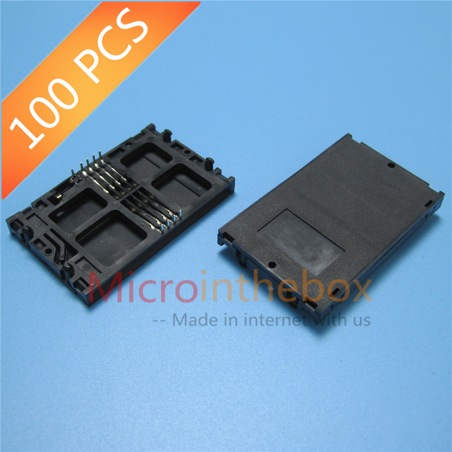 IC card connector for electricity meter water meter IC Card reader holder common type DIP 8Pin with Detector 2Pin