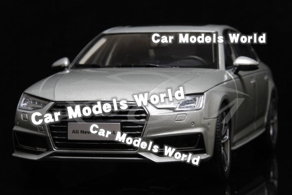 Diecast Car Model for All New A4L 2017 1 18 Gold SMALL GIFT