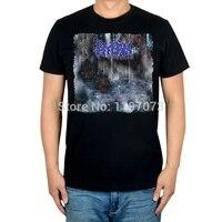 Frete grátis Draco Hyban Agora você pode comprar os Sussurros sobre este link! capa do álbum de black metal dos homens T-Shirt Top