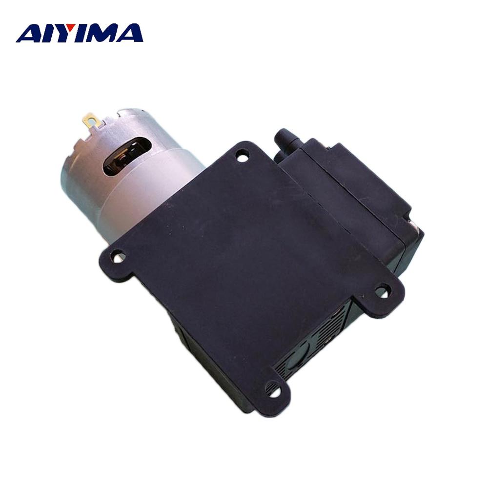 Aiyima Micro Air Pump 300kpa DC9V 12V 24V 15W 18L/min Diaphragm Pump Metering Pumps cf 4 15w 40 20w 50 18l