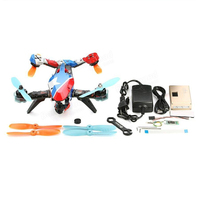 Just 1pcs V tail 210 FPV Drone ARF PNF Kit (NO TX RX) 1080P HD DVR/ SP Racing F3 FC/ 5.8G 40CH 200mW VTX / OSD/ GPS/ LED