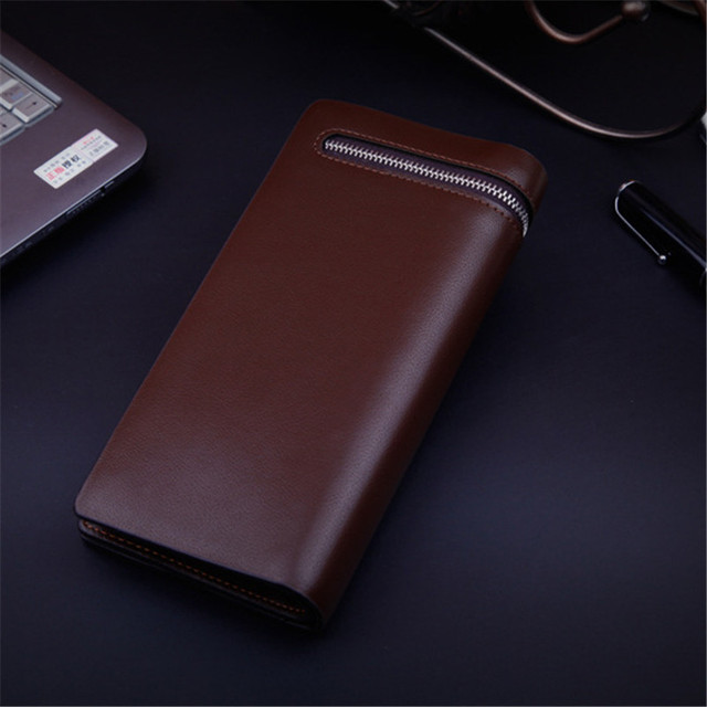 Men's Long Leather Wallets