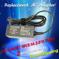 Replacement For Asus 19V 2.1A 2.5*0.7MM 40W Universal Notebook Laptop AC Charger Power eee pc 1001ha 101B Adapter free shipping