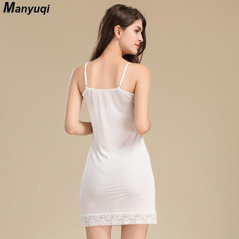 1ad62ddc3 100% de seda pura camisola das mulheres suspensórios sexy vestido para  mulheres da noite em casa sleepwear vestido peito com laço tamanho M L em  Nightgowns ...