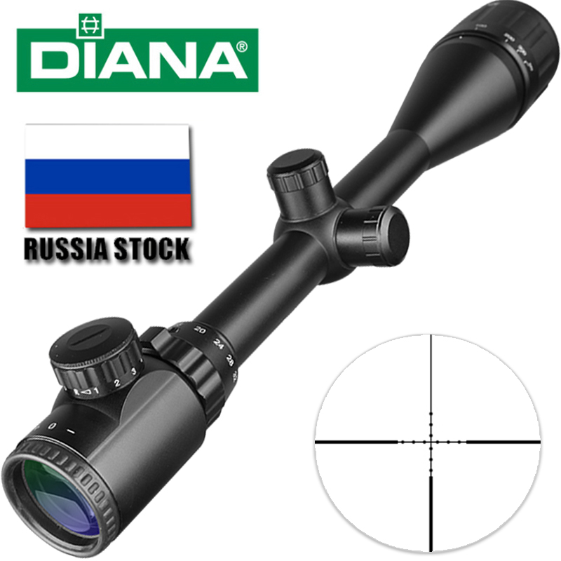 DIANA Tactical 8-32X50 Scopes Rifle Optics Red Dot Green Compact Riflescopes Outdoor Hunting ScopesDIANA Tactical 8-32X50 Scopes Rifle Optics Red Dot Green Compact Riflescopes Outdoor Hunting Scopes