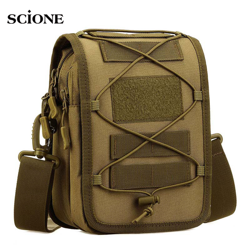 Outdoor Tactical Military Mountaineering Bag Tactical Backpack Camo Camping Shoulder Bag Cross Body Belt Sling Bags Ture 100% Guarantee Camping & Hiking