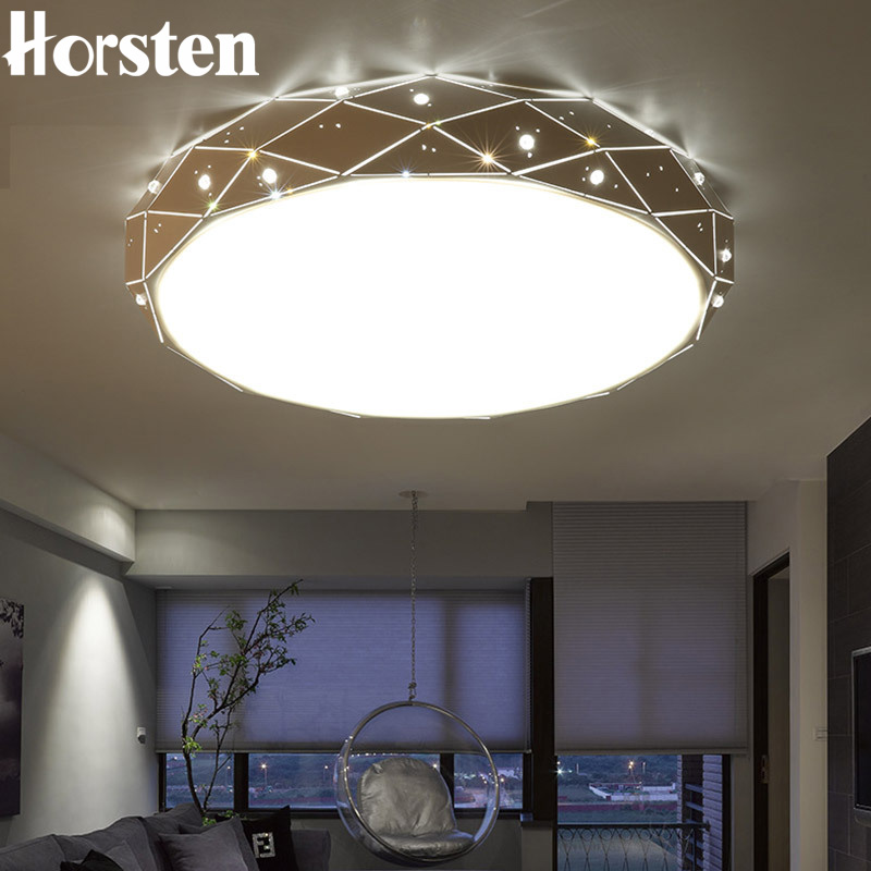 Horsten Modern Simple Round LED Ceiling Lamp Acrylic Dia29-80cm Ceiling Lights For Bedroom Living Room Balcony Kitchen Lighting nordic simple round acrylic bedroom led ceiling lamp modern kitchen balcony corridor aisle cafe living room lamp free shipping