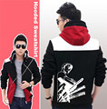 Unisex Anime ONE PIECE Cosplay Hoodies Zipper Sweatshirts Streetwear Jacket Sportwear Jacket Coat