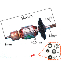 AC 220 240V Armature Motor Rotor Replacement For BOSCH GBH5 38D 1 614 011 083 GBH5400