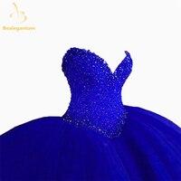 Bealegantom Красный Милая Бальные платья 2017 бальное платье из бисера Сладкие 16 платье 15 лет Vestidos De 15 anos qa1182