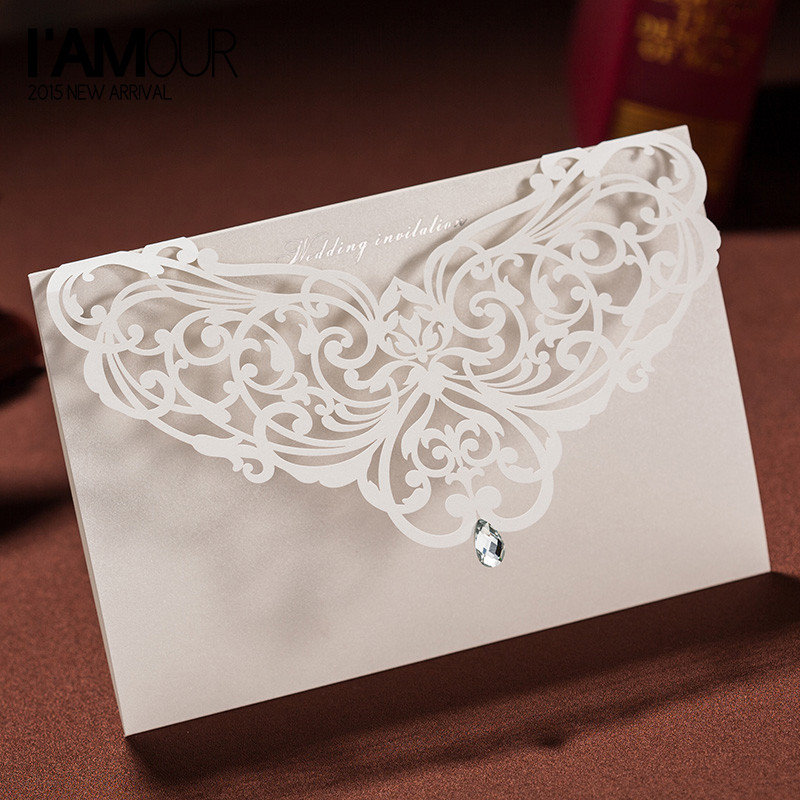 Buy Crystal Wedding Invitation And Get Free Shipping On AliExpress