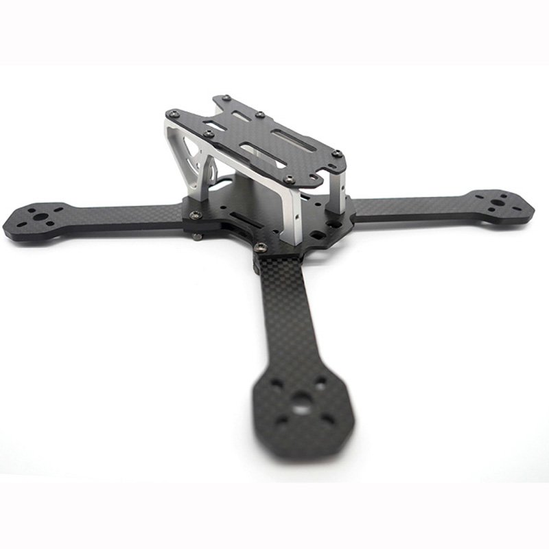 FPV Racing Drone FROG 218 Carbon Fiber Quadcopter Frame kit 4mm Arm For QAV-XS QAV210 Thor X5 Crusader diy fpv mini drone qav210 quadcopter frame kit pure carbon frame cobra 2204 2300kv motor cobra 12a esc cc3d naze32 10dof