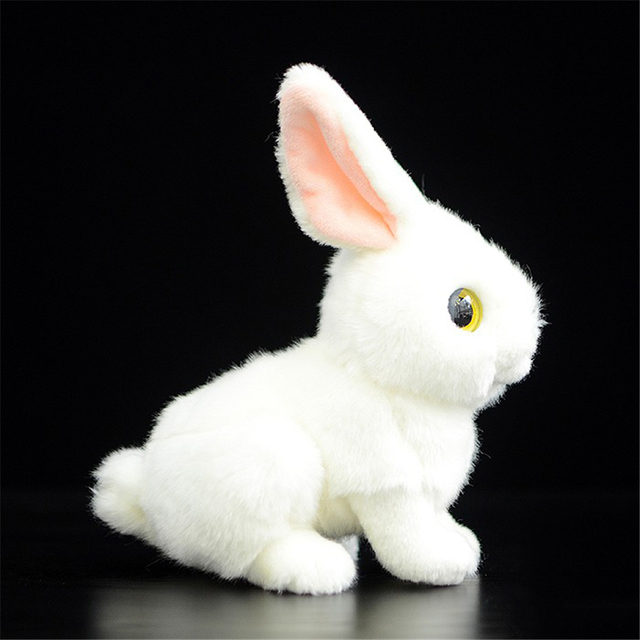 Toys For Children Girls Plush Stuffed Toys Rabbit Fluffy Bunny Valentine  Day Gifts Mini Kids Toys