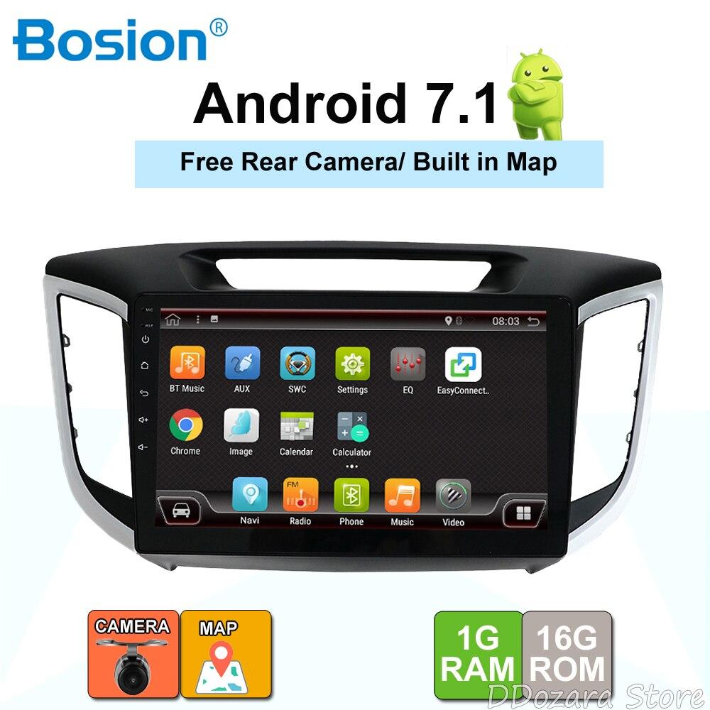 Android 7.1 2 din dvd de voiture gps lecteur Pour Hyundai IX25 Creta Voiture radio gps lecteur multimédia enregistreur à bande