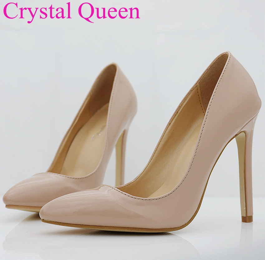 four season women pumps nude heels nude pumps thin heels shoes women high heels pointed toe. Black Bedroom Furniture Sets. Home Design Ideas