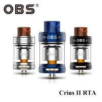 In Stock OBS Crius II RTA Tank 3 5ML Eliquid Capacity Crius 2 Atomizer Reload RTA