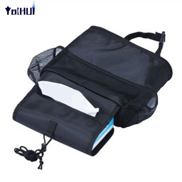 Insulation Work Style Auto Car Seat Organizer Sundries Holder Multi-Pocket Backseat Storage Box