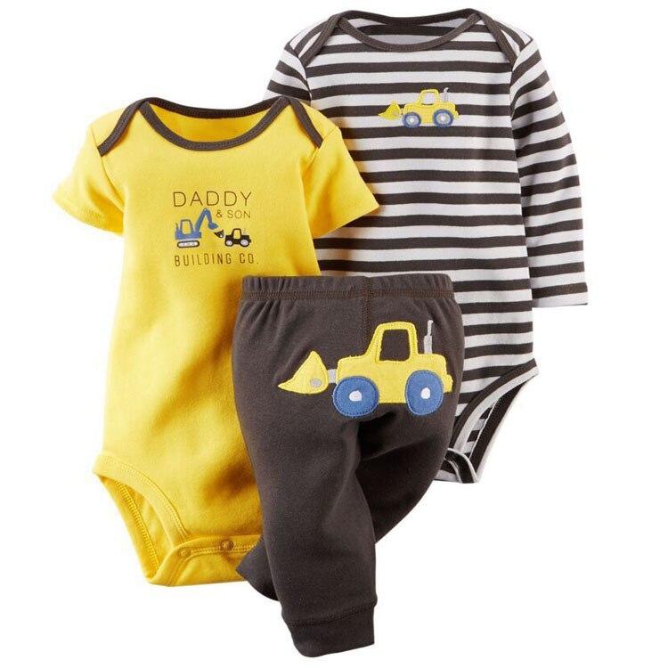 Kids Baby Tights 3 Piece Set New Spring / Autumn Baby Cute Cotton Fleece Clothing Boys Girls Cartoon Brand Tights