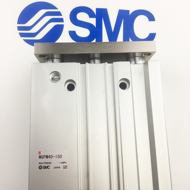 MGPM40 30 MGPM40 40 MGPM40 50 SMC compact guide cylinder Thin Three axis cylinder with rod cylinder MGPM series-in Pneumatic Parts from Home Improvement    2