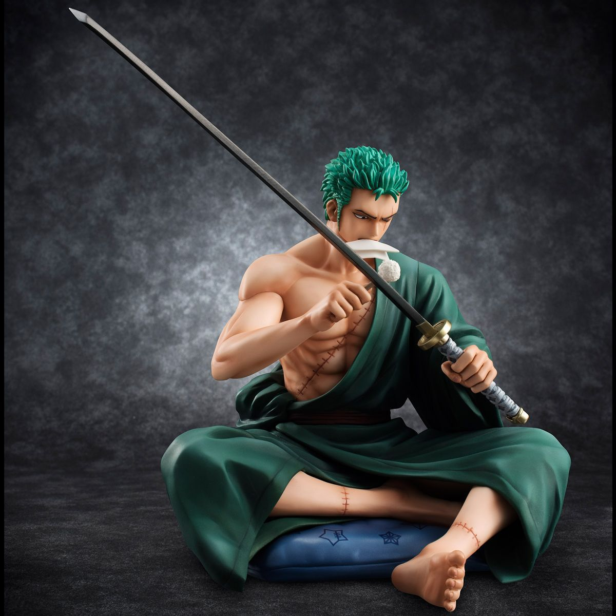 WVW 13CM Hot Sale Anime One Piece New World Roronoa Zoro Model PVC Toy Action Figure Decoration For Collection Gift new hot christmas gift 21inch 52cm bearbrick be rbrick fashion toy pvc action figure collectible model toy decoration