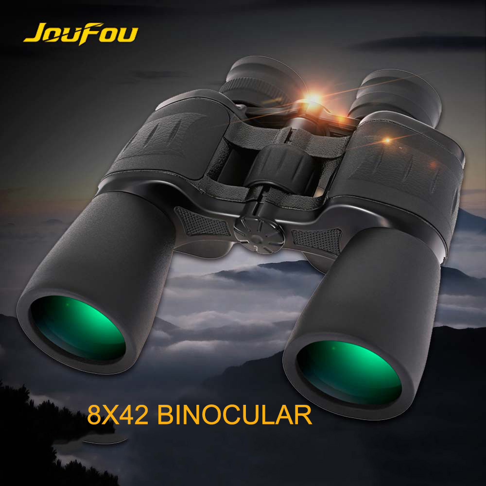 JouFou 8X42 Binocular Professional HD High power Telescope Eyepiece Wide Field Of Vision For font b