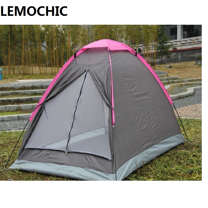 Double-layers outdoor camping tents waterproof beach barraca hunting fishing high quality Single gazebo ultralight tent fulang aluminium alloy fishing rotatable umbrella heat protection double layers 2m r35