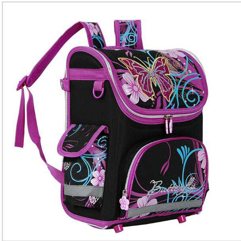 New Winx School Bag Orthopedic Girls Princess Children School Bags Kids Satchel Monster High School Backpack