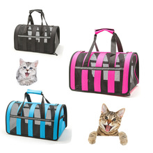 Outdoor Dog Cat bags travel pet corduroy colorful cat carrier bag Colorful Handbag S/M Size Easy Carry Pet Bag