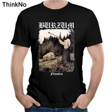 Burzum Filosofem Cover T shirt Summer Top design Popular Tees Nice Short-sleeved Casual Fashion Cool цена 2017