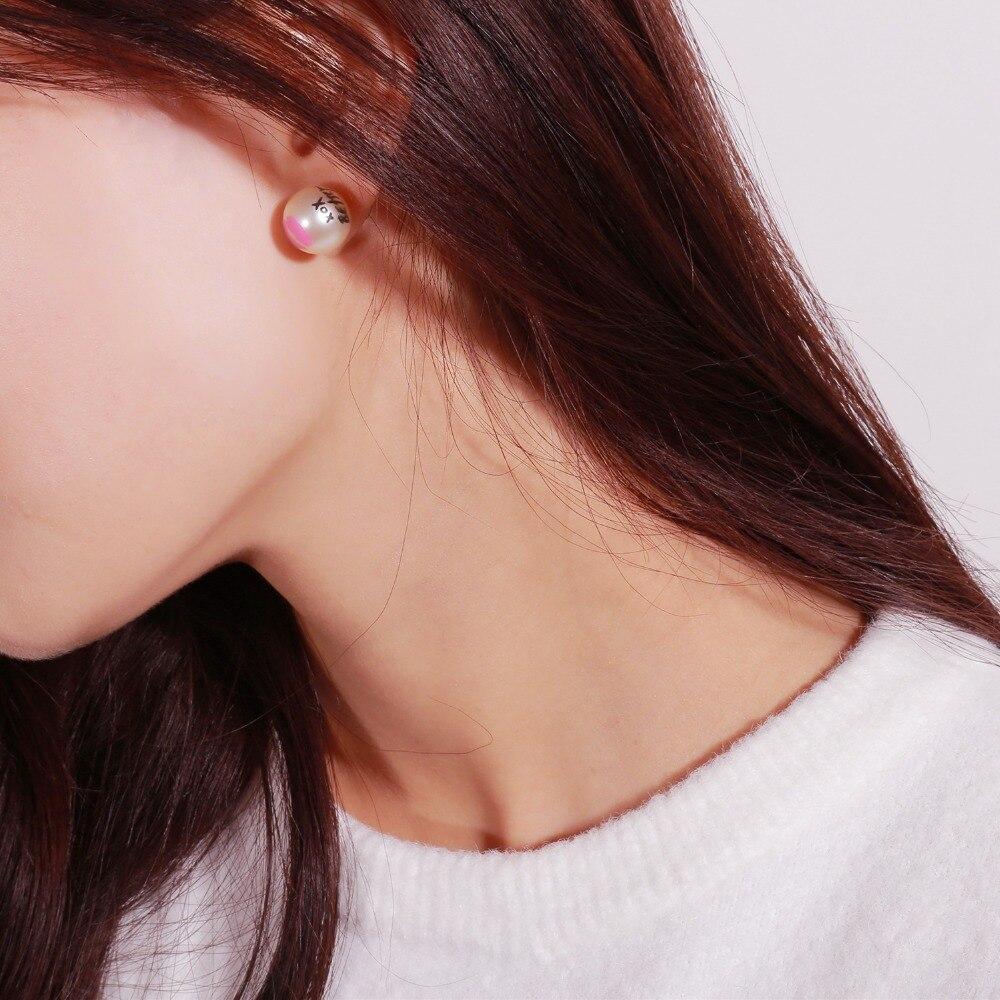 Pearl Women Stud Earrings Fine Jewellery Lips Earrings Funny Jewelry Accessories Fashionable Pendientes Statement Earrings jewellery