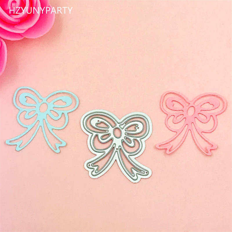 Bow Metal Die Cutting Dies Scrapbooking Embossing Folder Suit For Sizzix Fustella Big Shot Cutting Machine 01