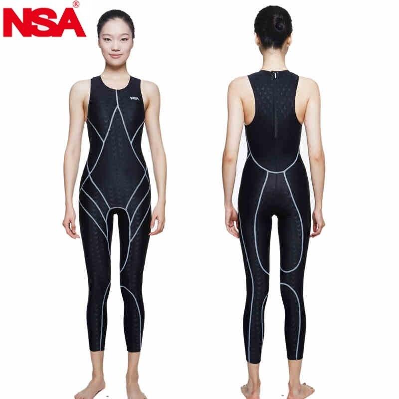NSA unique design sleeveless full body lycra swimwear sharkskin waterproof mens rash buard swimming wetsuits diving suit кабель titech tt nsa