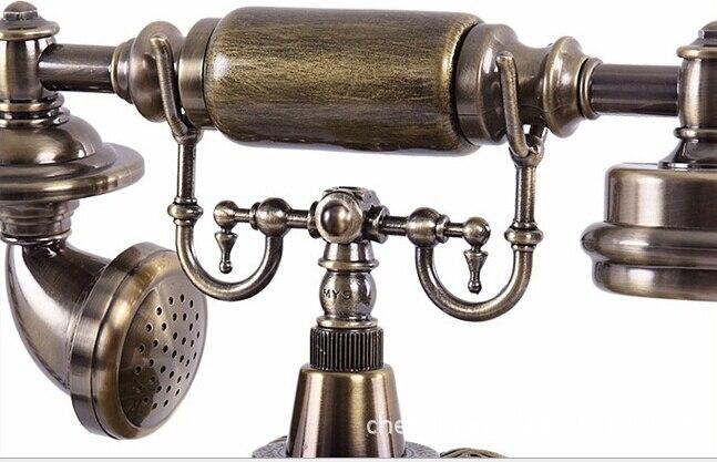 Avropa Moda Dərsinə Qatran Tunc Antik Telefonlar Otel Telefon - Ofis elektronikası - Fotoqrafiya 5