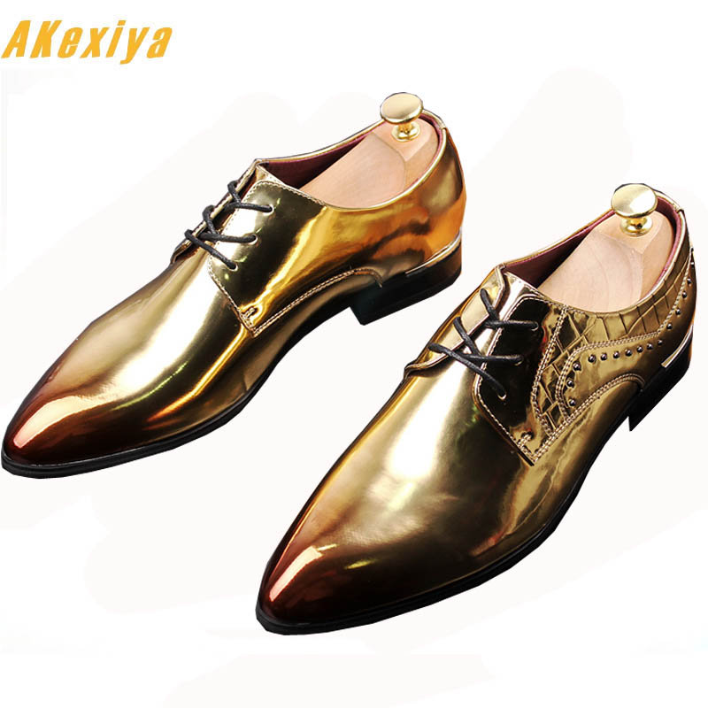Helpful 2018 British Style Trendy Men Pointed Rivet Rhinestone Shoes Male Homecoming Prom Dress Wedding Oxford Shoes Zapatos Hombre Vest Shoes