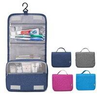 Makeup Bag Travel Hook Cosmetic Bag Organizer Case Women Men Large Waterproof Necessaries Make Up Toiletry