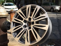 20 inch 5x112 et 38 Gunmetal Machine Face Wheel Rims W636
