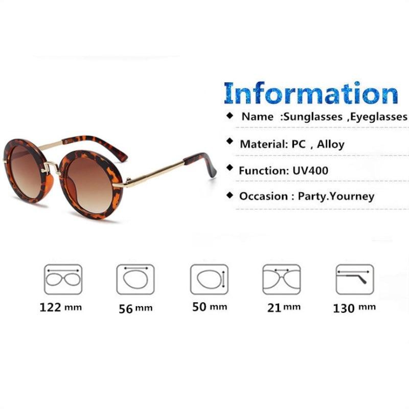 KOTTDO bulat kanak-kanak yang indah kanak-kanak cermin mata kacamata - Aksesori pakaian - Foto 4