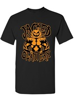 Men S Halloween Jacked O Lantern Pumpkin Spider Web Muscle Pumpkin Jack O Lantern Tee Shirt
