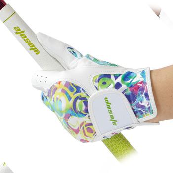 Rękawica golfowa kożuchy damskie rękawiczki lewego prawego ręki oddychająca fantomowa kolor rękawica golfowa akcesoria do golfa darmowa wysyłka tanie i dobre opinie wosofe Prawdziwej skóry WOMEN