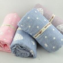 Шесть layerscotton пряжи ребенка ткань ткань для одеяло полотенце одеяло спальный мешок