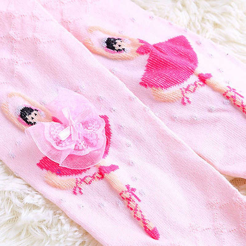 4e380a8216f ... Kids Ballet Pantyhose 4-12Y Baby Dancer Cute Cartoon Designs Girls  Tights Children Velvet Magic