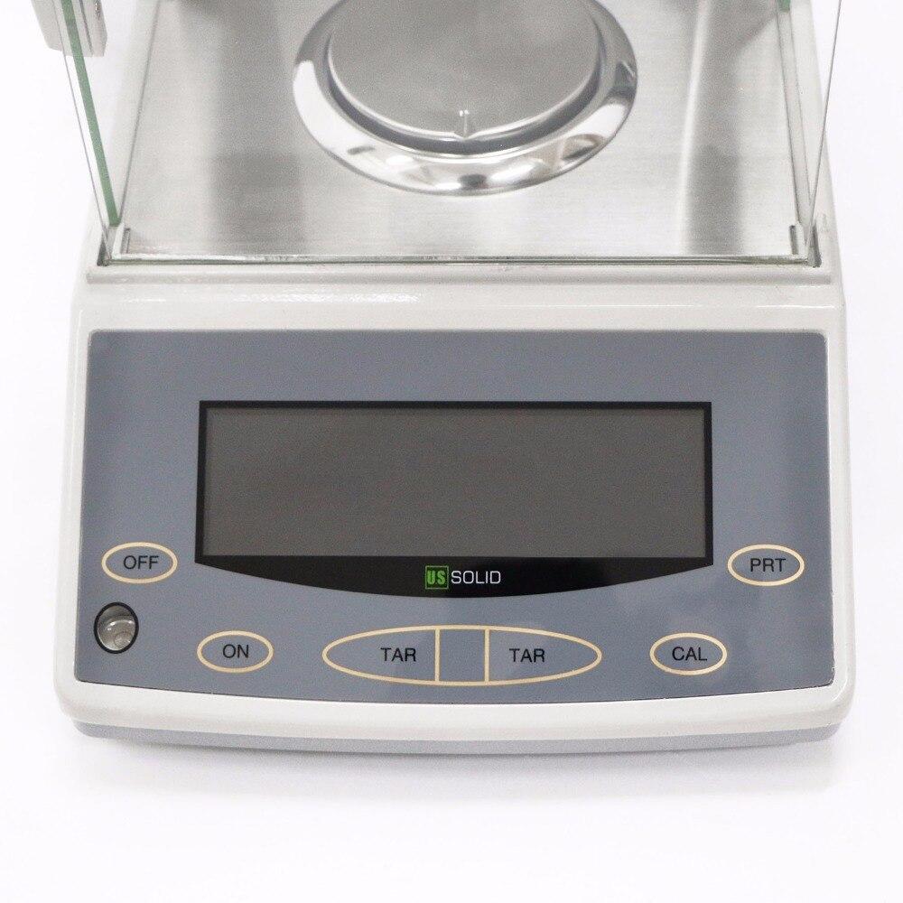 JAV vientisa 220 x 0,0001 g 0,1 mg laboratorinės analizės - Matavimo prietaisai - Nuotrauka 6