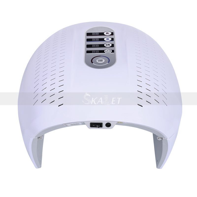 Portable 7 Color PDT LED Photon Light Therapy Lamp PDT Mask Skin Tighten Rejuvenation Wrinkle Remover Acne Device For Spa