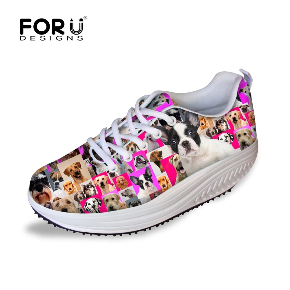Casual 3D Animal Pug Dog Rottweiler Print Girl Shoes Fashion Women High  Heels Platform Swing Shoes Cute Pet Dog Wedge Shoes-in Women's Vulcanize  Shoes from ...